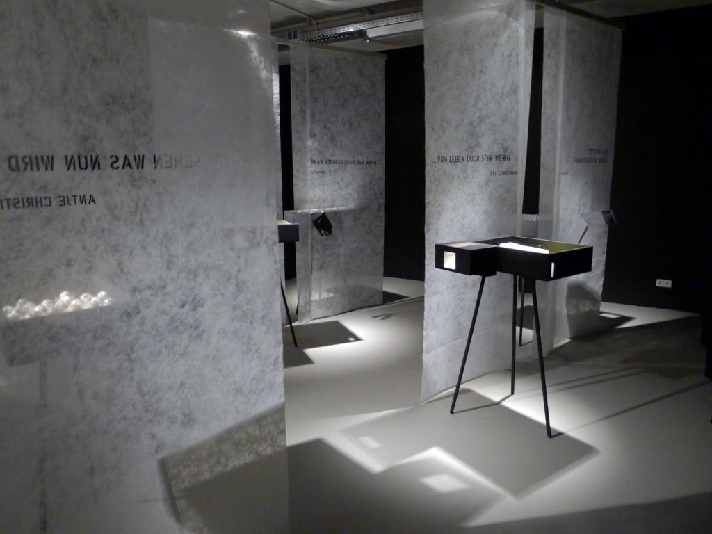 21 Briefe – Ausstellungseröffnung – Innenarchitektur studieren in ...